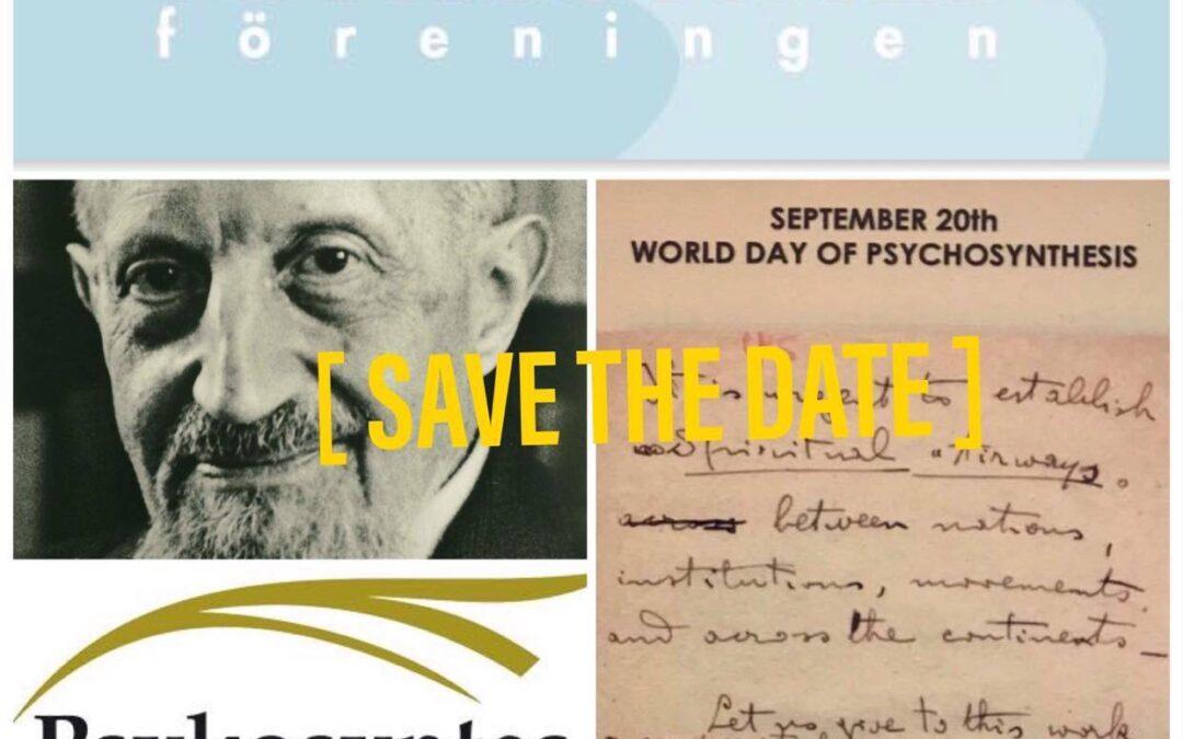 Världspsykosyntesdagen 20 september 2020